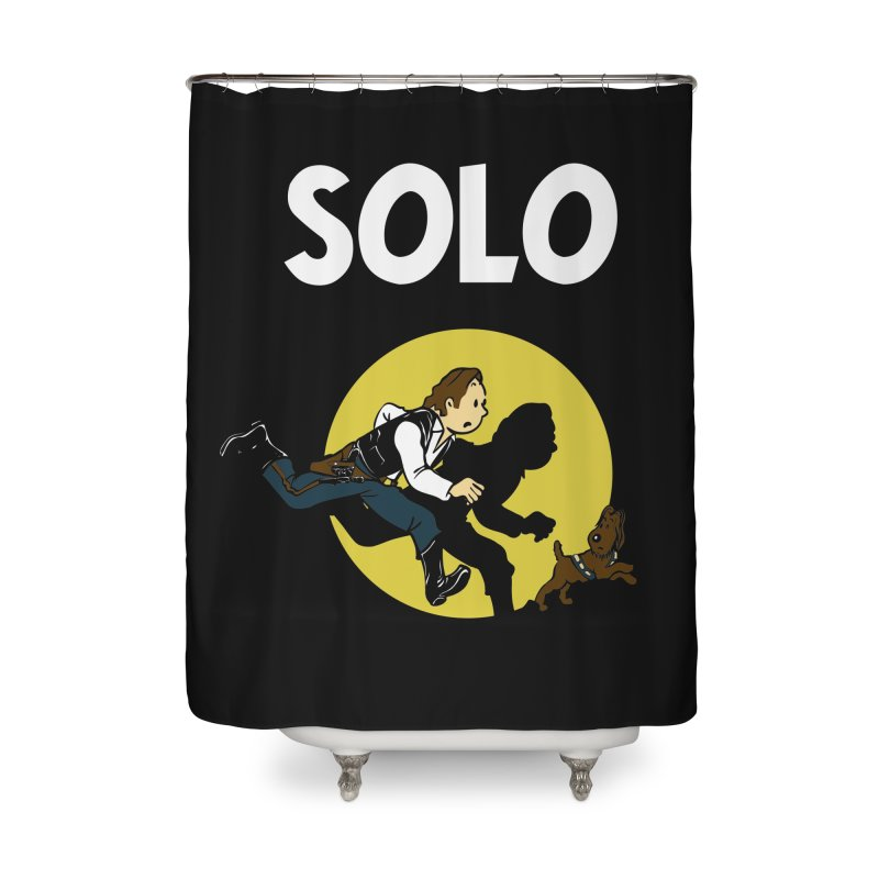 Solo Tintin Home Shower Curtain by quadrin's Artist Shop