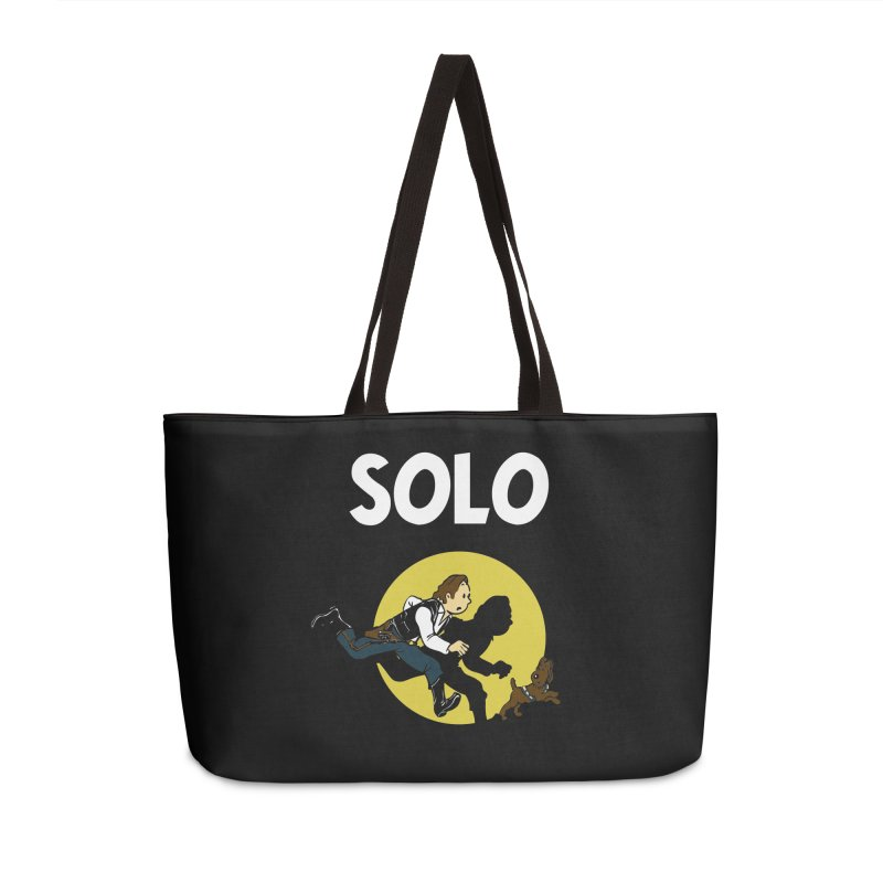 Solo Tintin Accessories Weekender Bag Bag by quadrin's Artist Shop