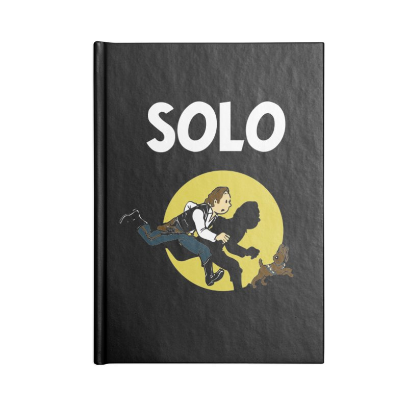 Solo Tintin Accessories Lined Journal Notebook by quadrin's Artist Shop