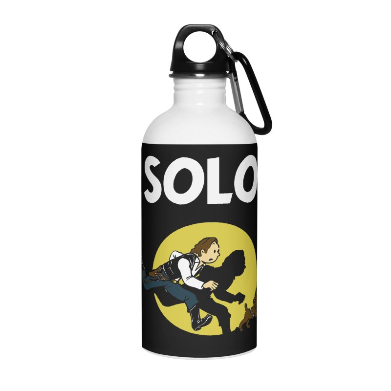 Solo Tintin Accessories Water Bottle by quadrin's Artist Shop