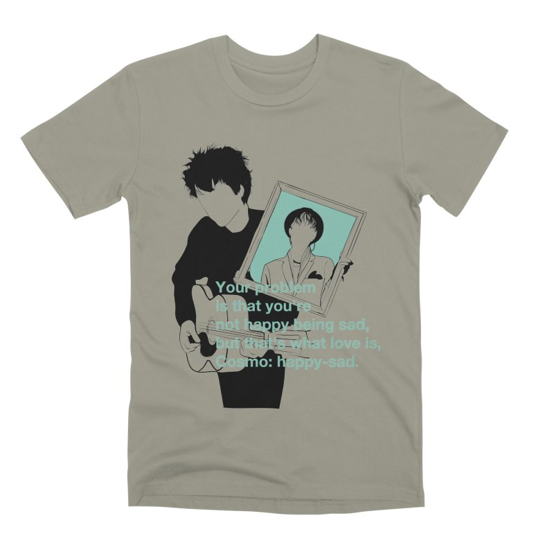 Cosmo: Happy-sad Men's Premium T-Shirt by quadrin's Artist Shop