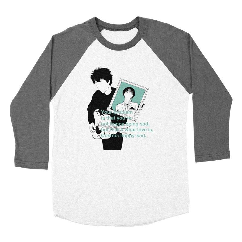 Cosmo: Happy-sad Women's Baseball Triblend Longsleeve T-Shirt by quadrin's Artist Shop