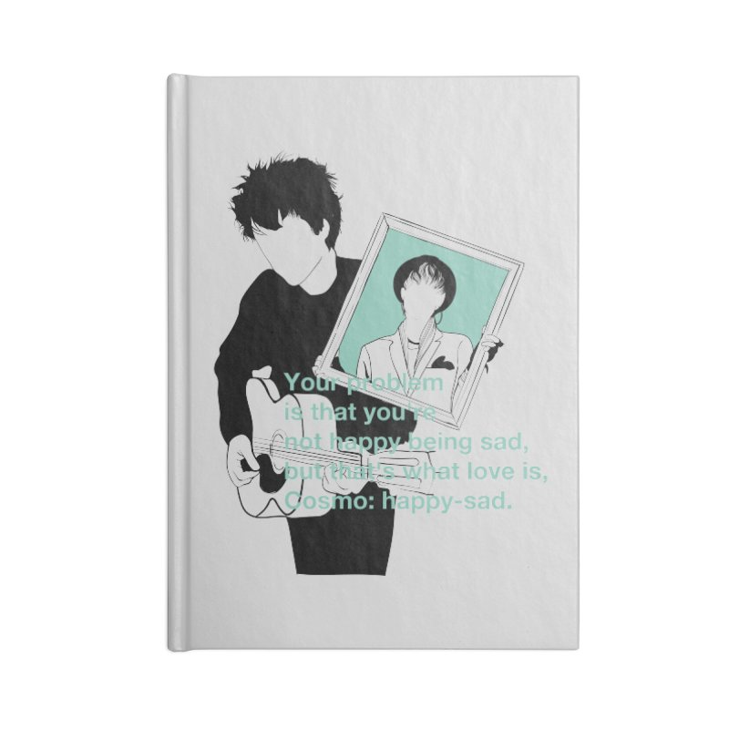 Cosmo: Happy-sad Accessories Blank Journal Notebook by quadrin's Artist Shop
