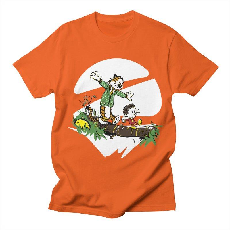 Shazam + Mister Tawky Tawny Men's Regular T-Shirt by quadrin's Artist Shop