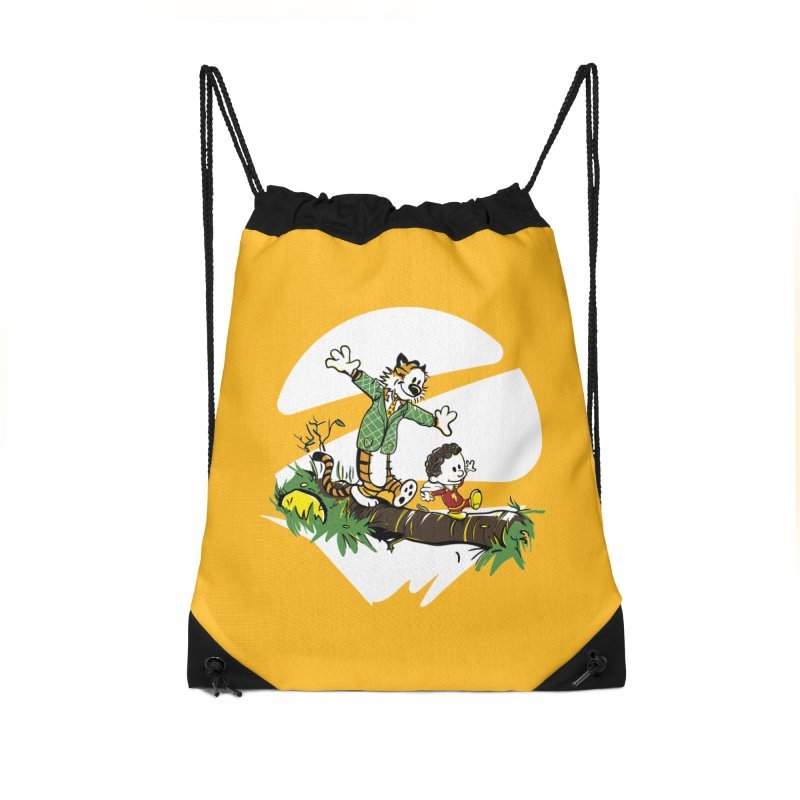 Shazam + Mister Tawky Tawny Accessories Drawstring Bag Bag by quadrin's Artist Shop