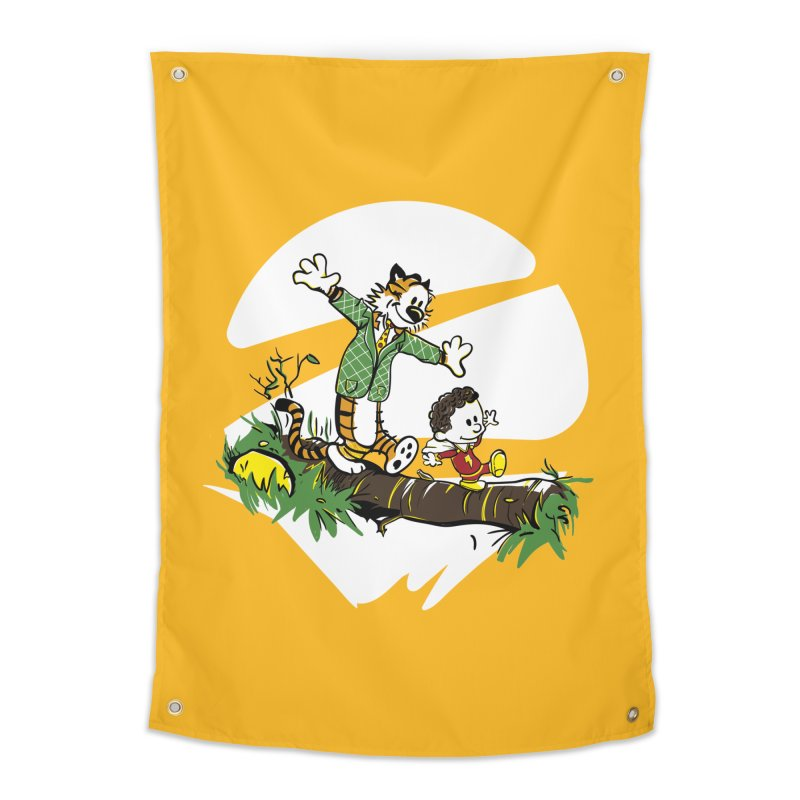 Shazam + Mister Tawky Tawny Home Tapestry by quadrin's Artist Shop