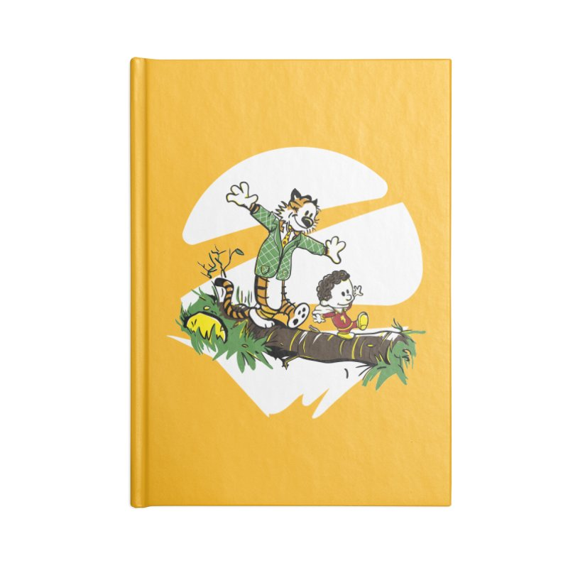 Shazam + Mister Tawky Tawny Accessories Lined Journal Notebook by quadrin's Artist Shop