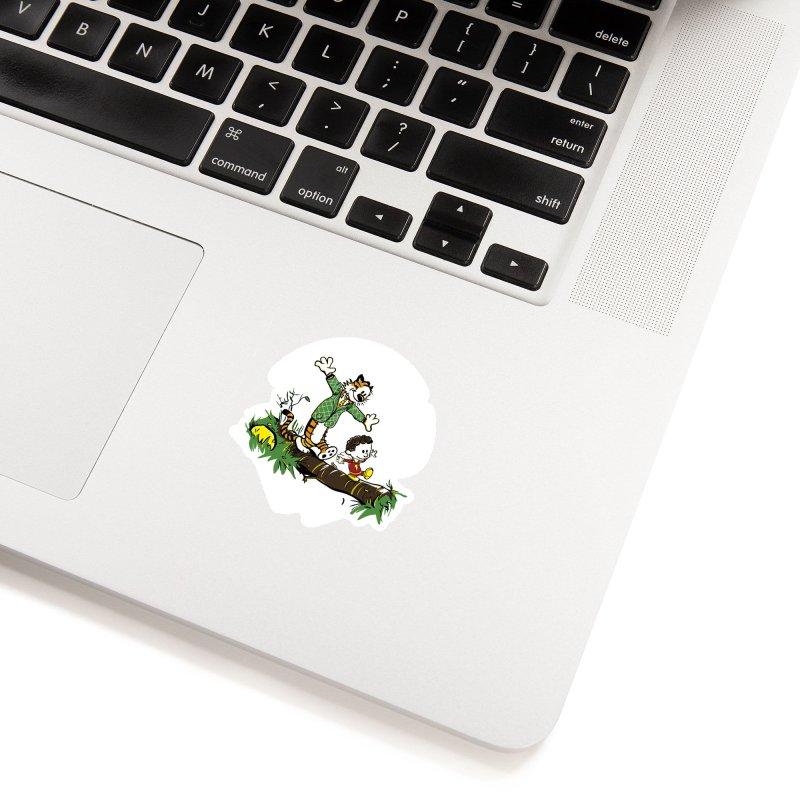 Shazam + Mister Tawky Tawny Accessories Sticker by quadrin's Artist Shop