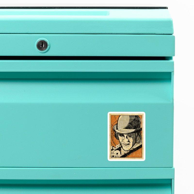 A Clockwork Orange - Alex DeLarge Accessories Magnet by quadrin's Artist Shop