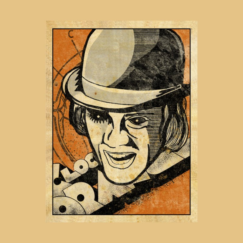 A Clockwork Orange - Alex DeLarge Accessories Skateboard by quadrin's Artist Shop