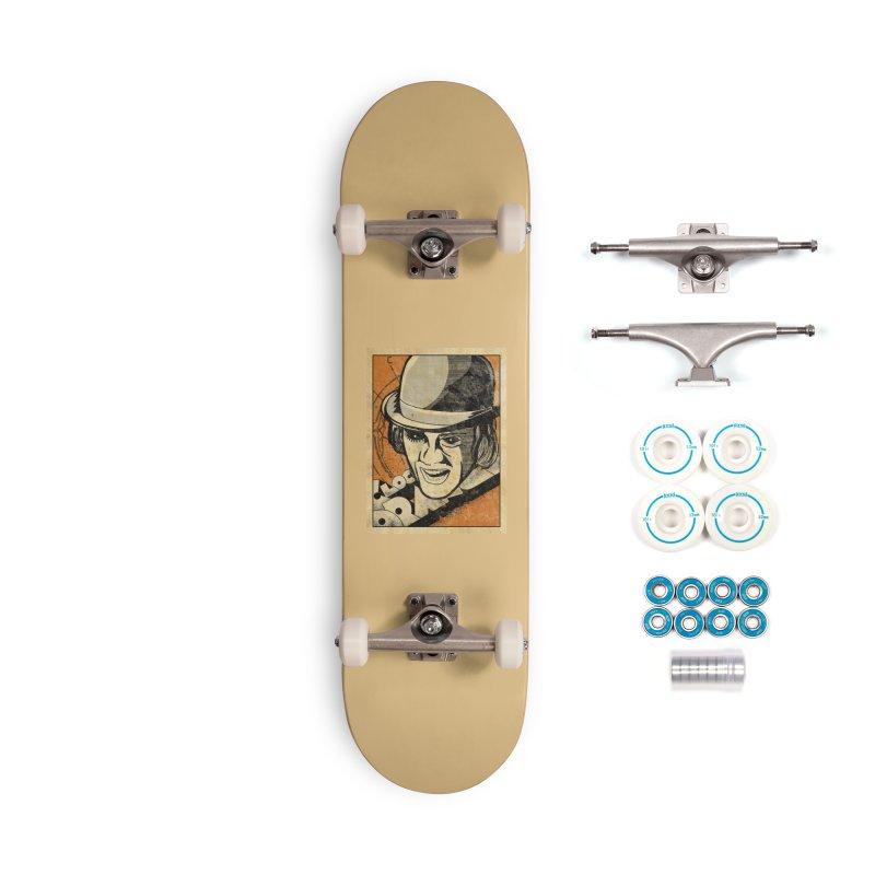 A Clockwork Orange - Alex DeLarge Accessories Skateboard by quadrin's Artist Shop