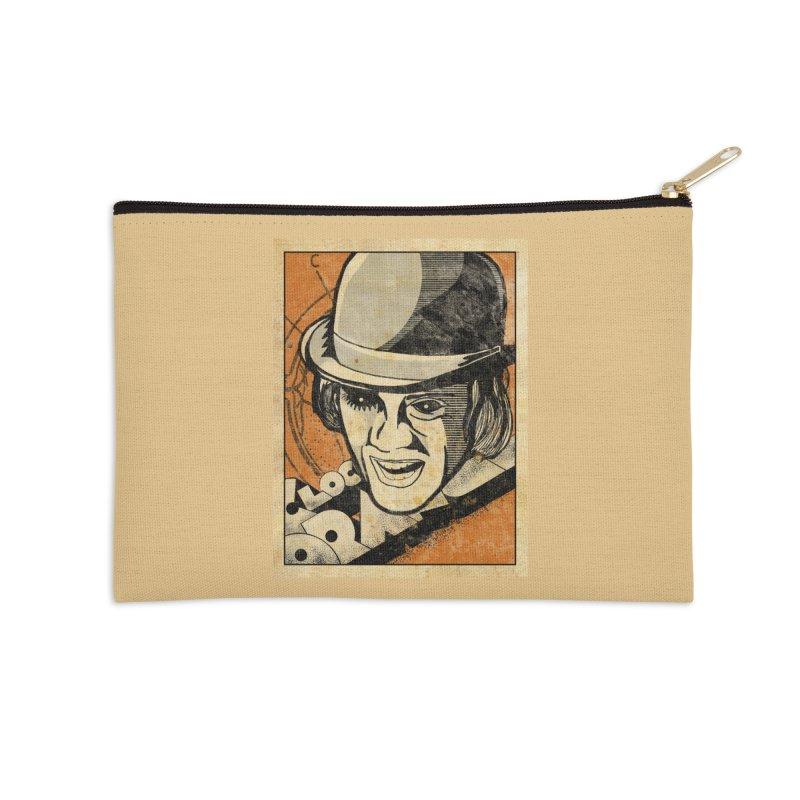 A Clockwork Orange - Alex DeLarge Accessories Zip Pouch by quadrin's Artist Shop