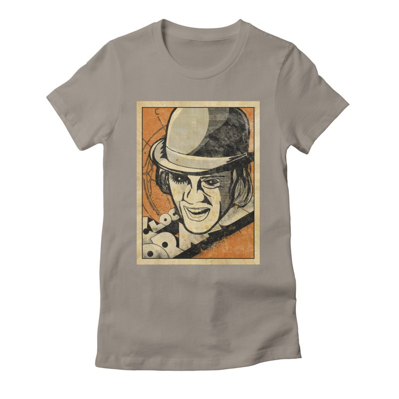 A Clockwork Orange - Alex DeLarge Women's T-Shirt by quadrin's Artist Shop