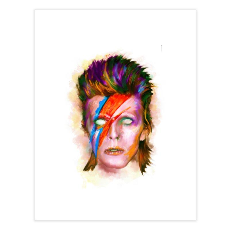 Ziggy Stardust Home Fine Art Print by quadrin's Artist Shop