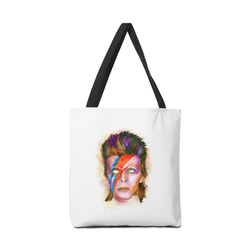 Ziggy Stardust Accessories Bag by quadrin's Artist Shop
