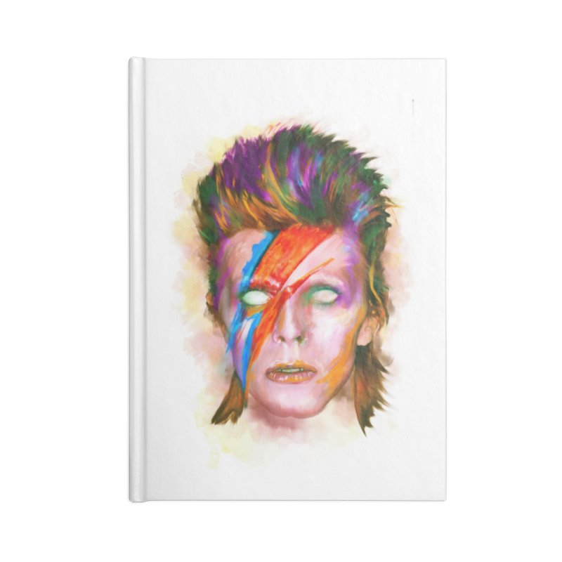 Ziggy Stardust Accessories Notebook by quadrin's Artist Shop