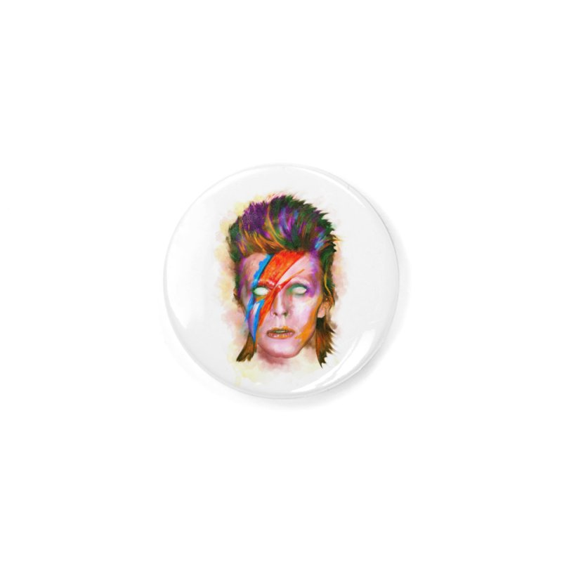 Ziggy Stardust Accessories Button by quadrin's Artist Shop