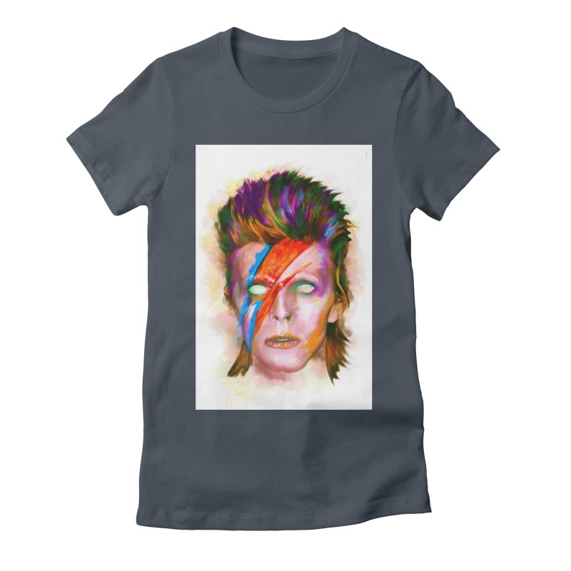Ziggy Stardust Women's T-Shirt by quadrin's Artist Shop
