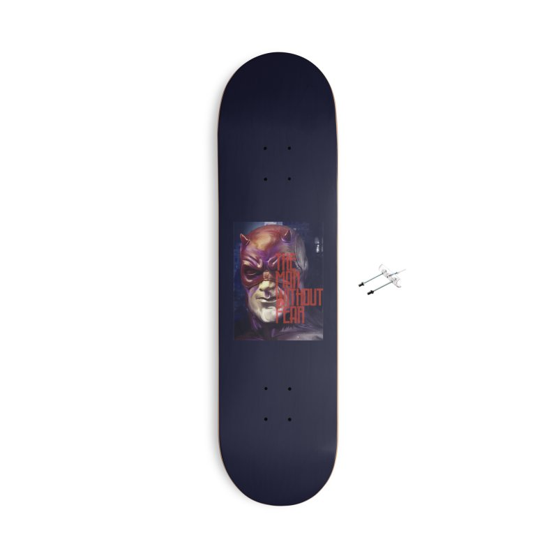 Daredevil - Fear Accessories Skateboard by quadrin's Artist Shop