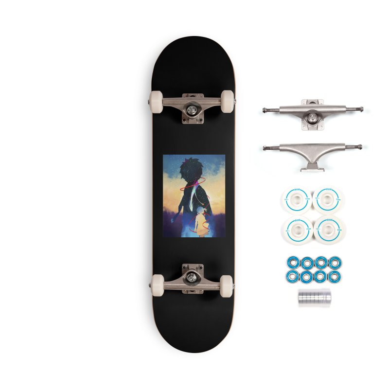 Your name Accessories Skateboard by quadrin's Artist Shop