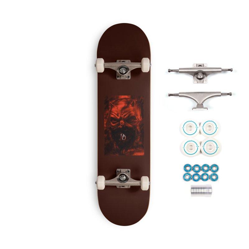 Daredevil Accessories Skateboard by quadrin's Artist Shop