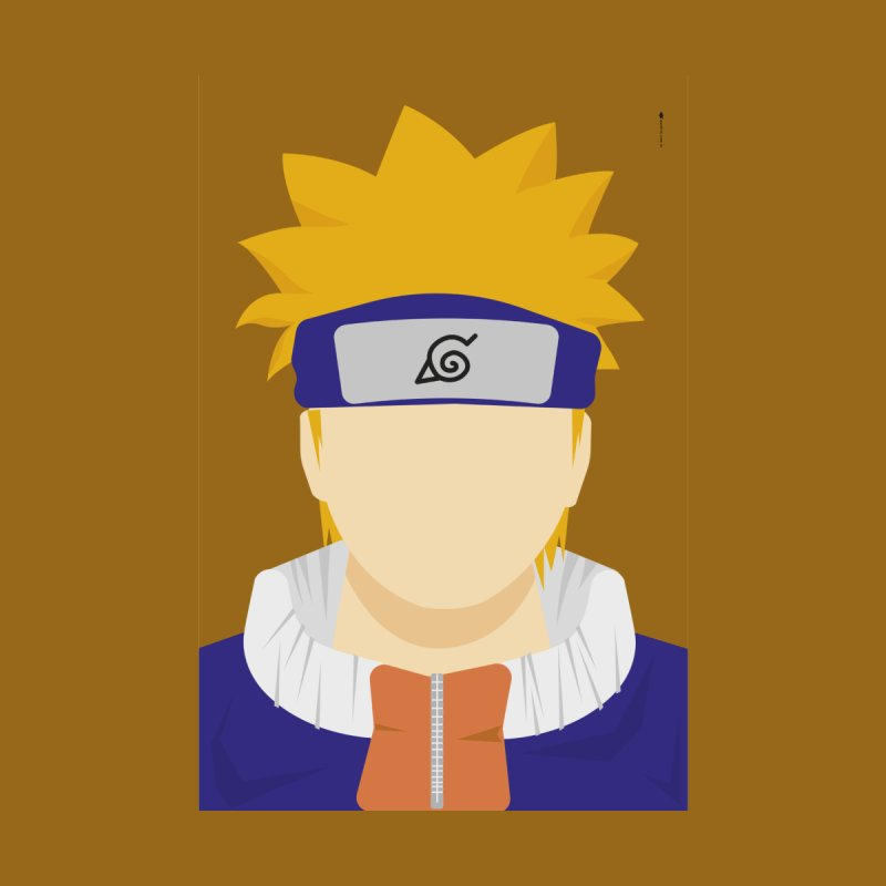 Naruto - Minimalist Kids Baby T-Shirt by quadrin's Artist Shop
