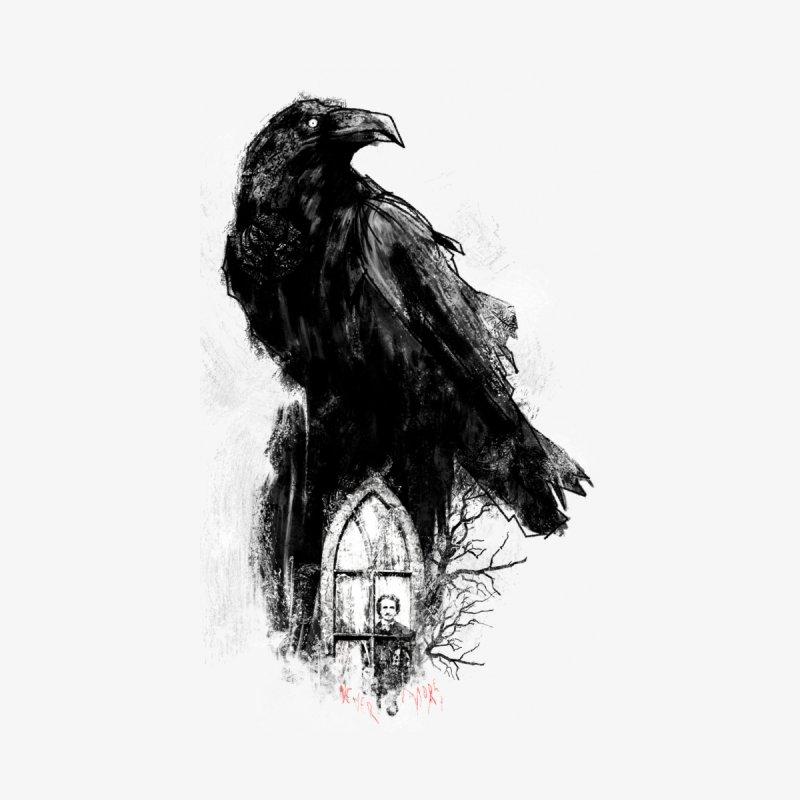 The Raven Men's T-Shirt by quadrin's Artist Shop