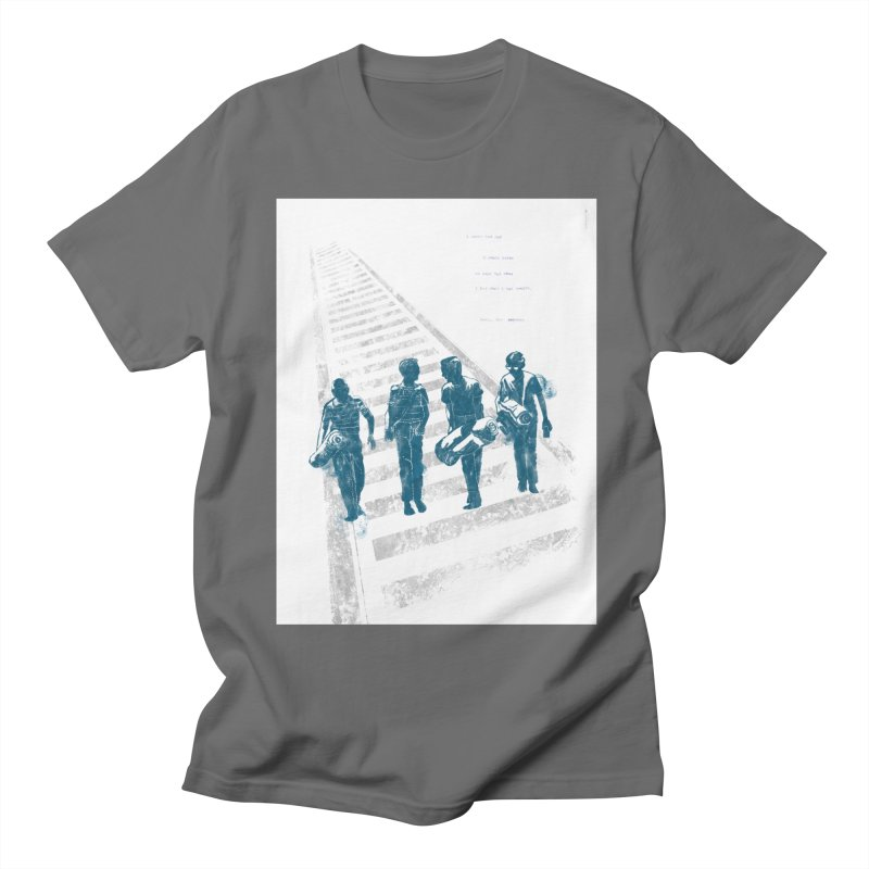 Stand by Me Men's T-Shirt by quadrin's Artist Shop