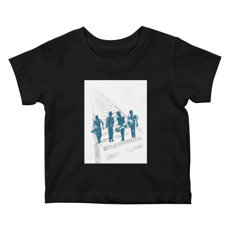 Stand by Me Kids Baby T-Shirt by quadrin's Artist Shop