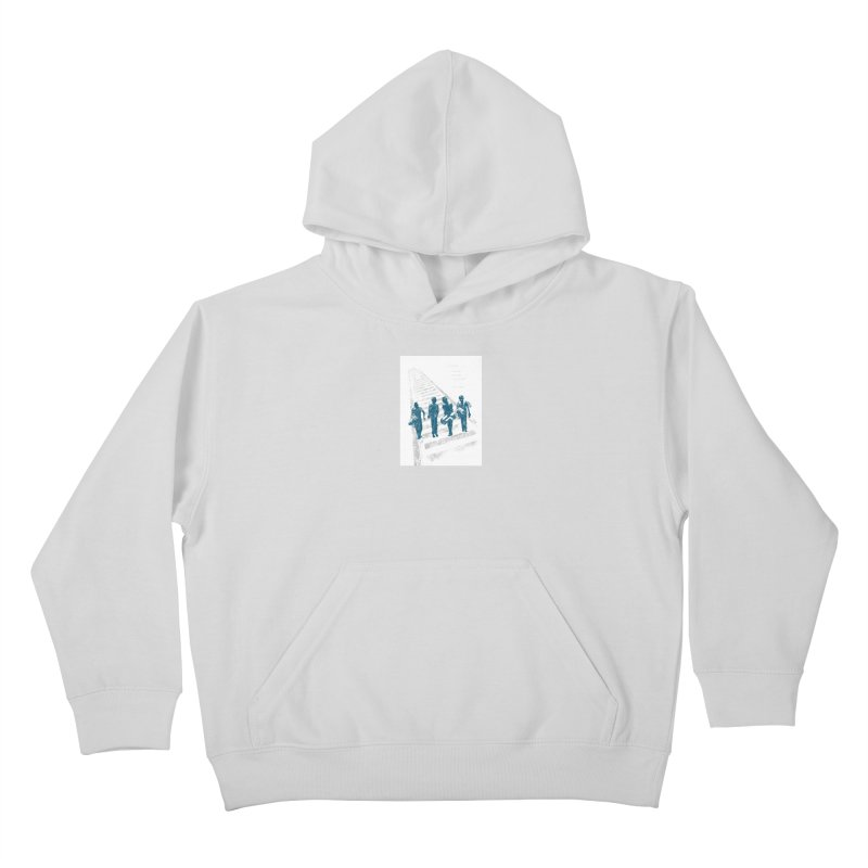 Stand by Me Kids Pullover Hoody by quadrin's Artist Shop