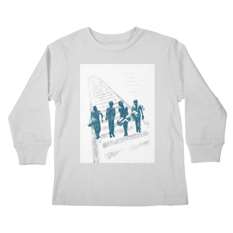 Stand by Me Kids Longsleeve T-Shirt by quadrin's Artist Shop