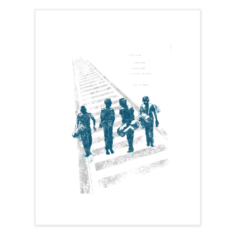 Stand by Me Home Fine Art Print by quadrin's Artist Shop