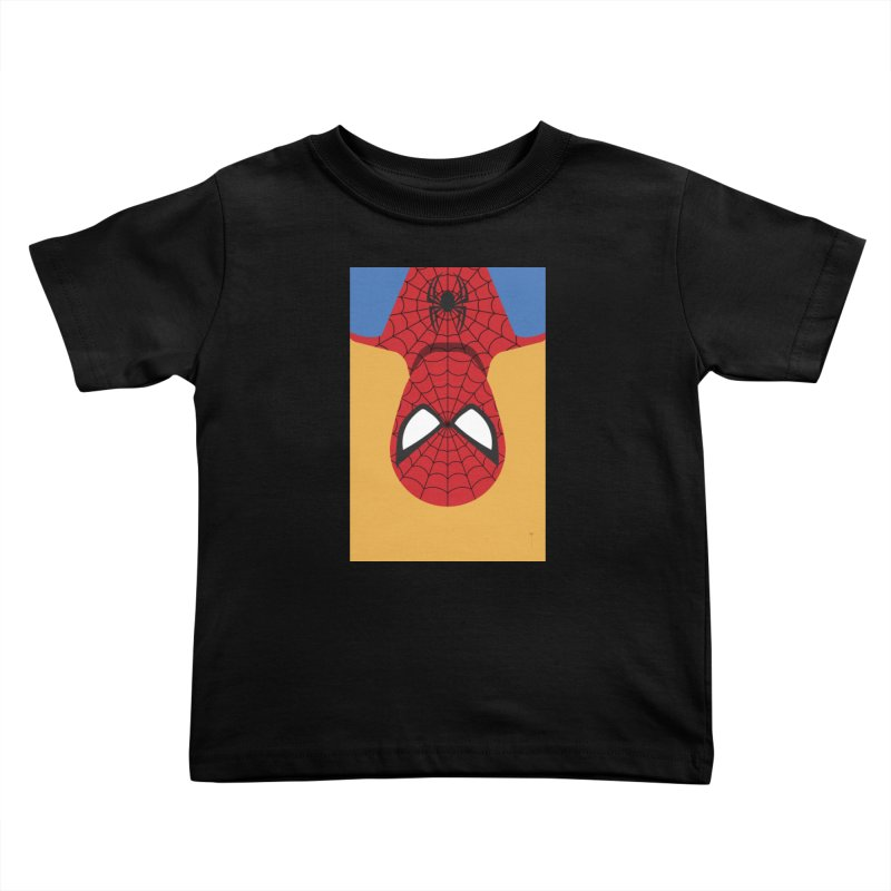 Spiderman - Minimalist Kids Toddler T-Shirt by quadrin's Artist Shop