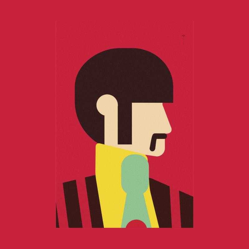 Ringo - Minimalist Women's Longsleeve T-Shirt by quadrin's Artist Shop