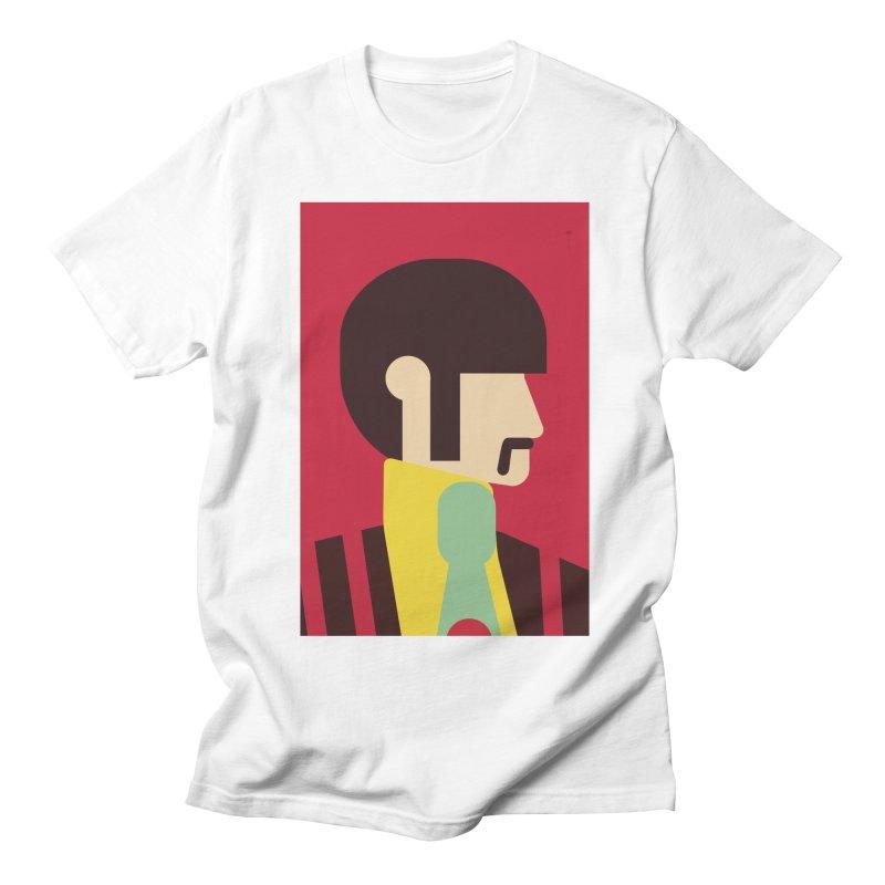 Ringo - Minimalist Men's T-Shirt by quadrin's Artist Shop