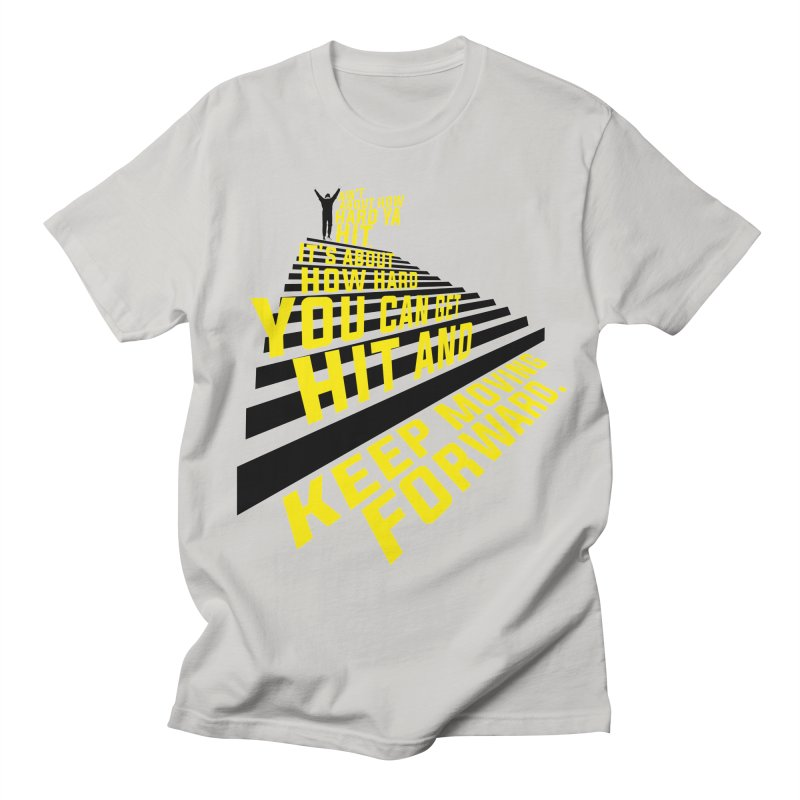 Moving Forward Men's T-Shirt by quadrin's Artist Shop
