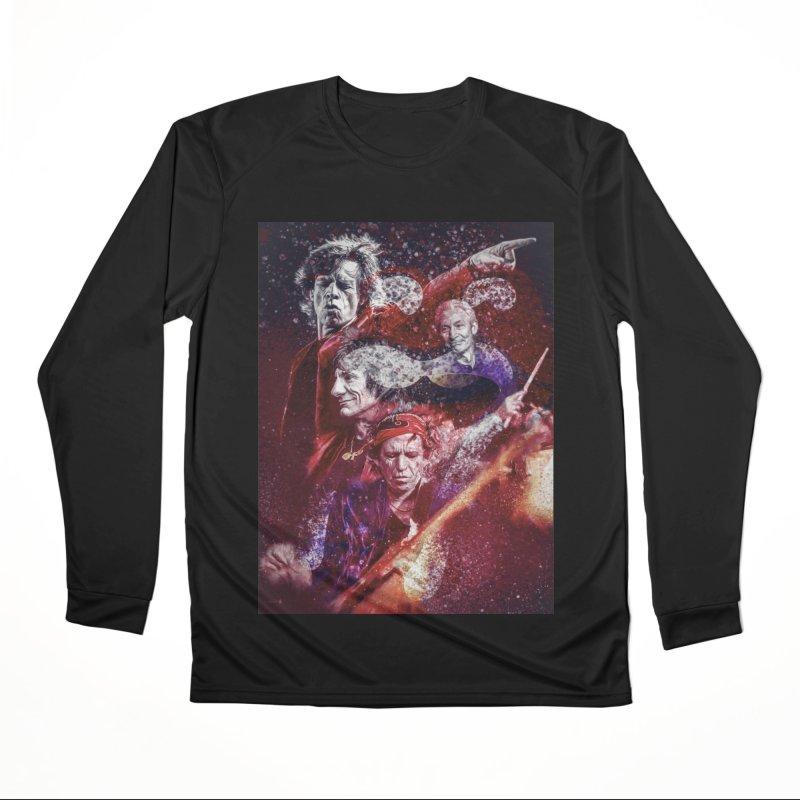 Stones Women's Longsleeve T-Shirt by quadrin's Artist Shop