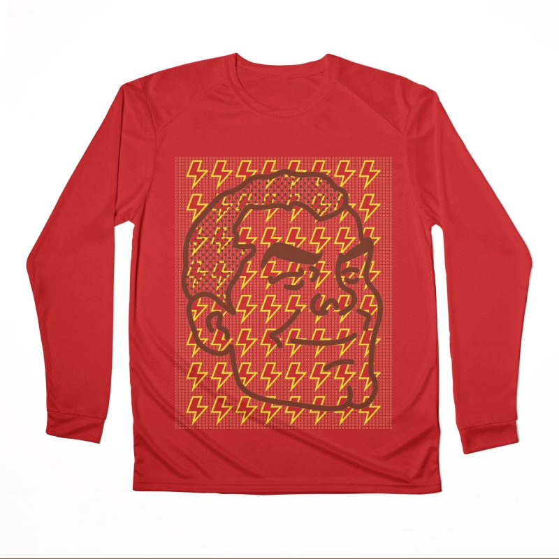 Shazam - Face Women's Longsleeve T-Shirt by quadrin's Artist Shop