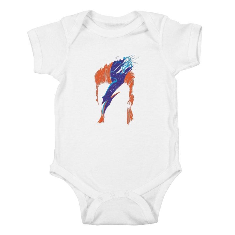 Space Oddity Kids Baby Bodysuit by quadrin's Artist Shop