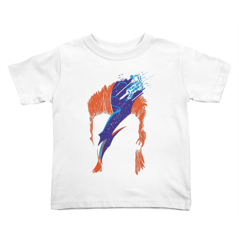 Space Oddity Kids Toddler T-Shirt by quadrin's Artist Shop