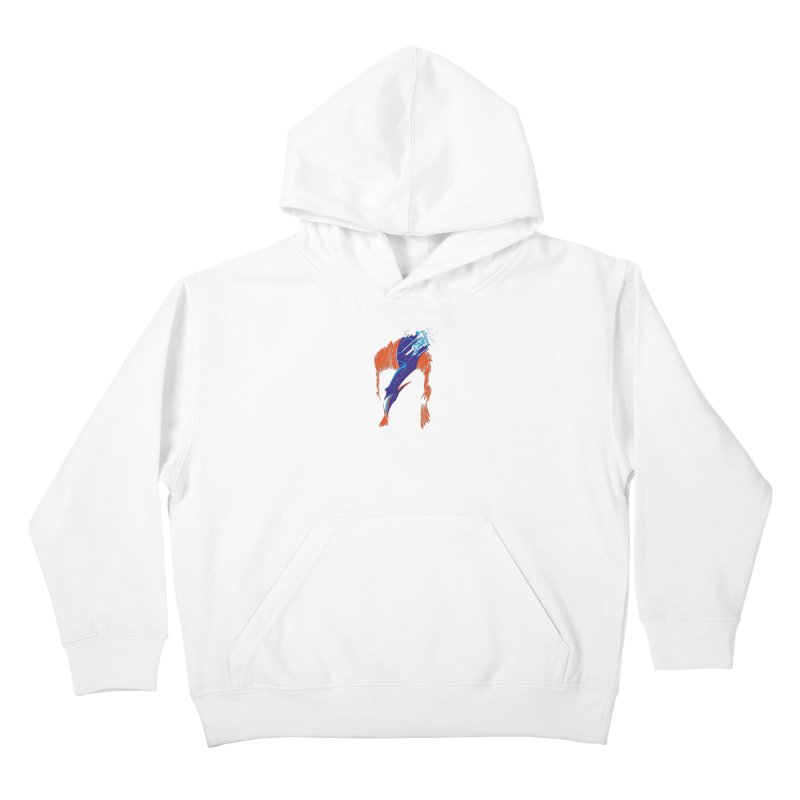 Space Oddity Kids Pullover Hoody by quadrin's Artist Shop