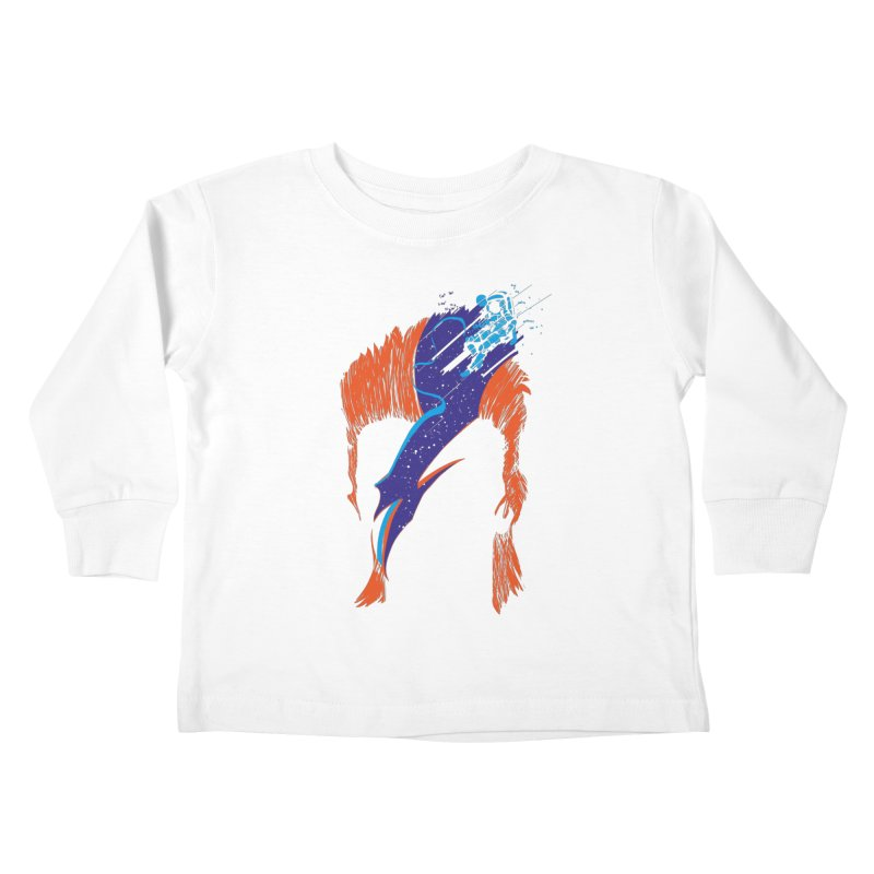 Space Oddity Kids Toddler Longsleeve T-Shirt by quadrin's Artist Shop