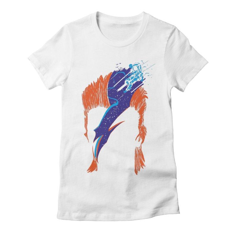 Space Oddity Women's T-Shirt by quadrin's Artist Shop