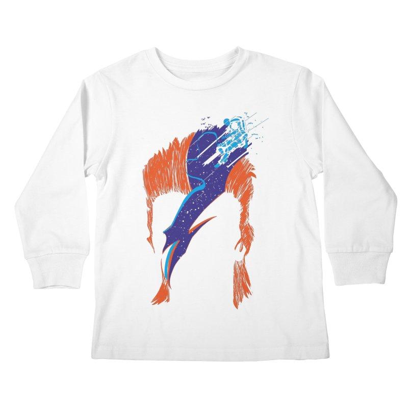 Space Oddity Kids Longsleeve T-Shirt by quadrin's Artist Shop