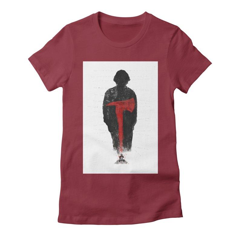 The Shining Women's T-Shirt by quadrin's Artist Shop