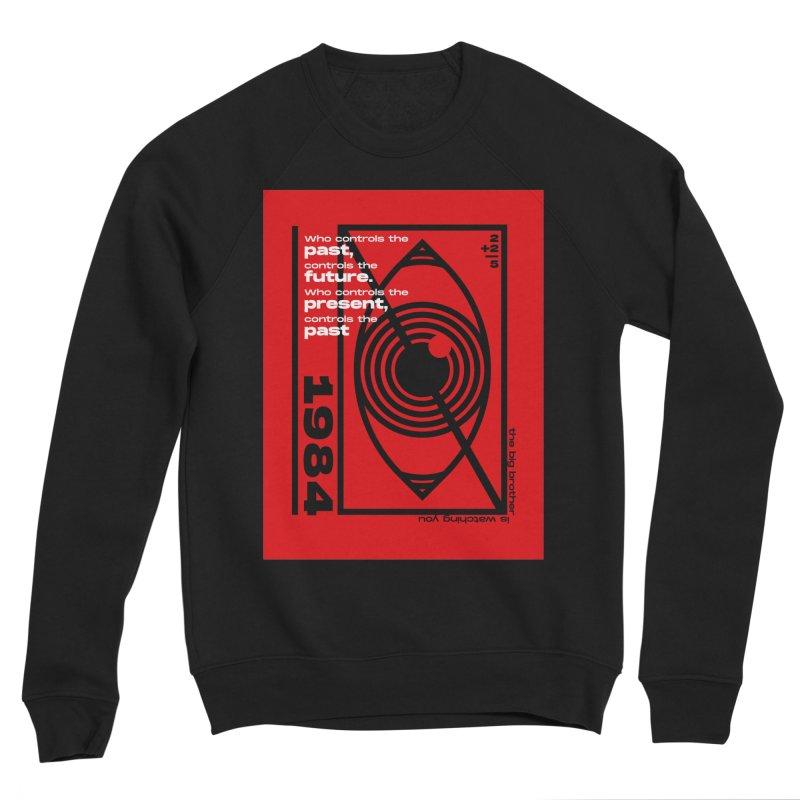 1984 Men's Sweatshirt by quadrin's Artist Shop