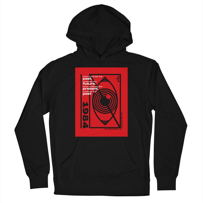 1984 Men's Pullover Hoody by quadrin's Artist Shop