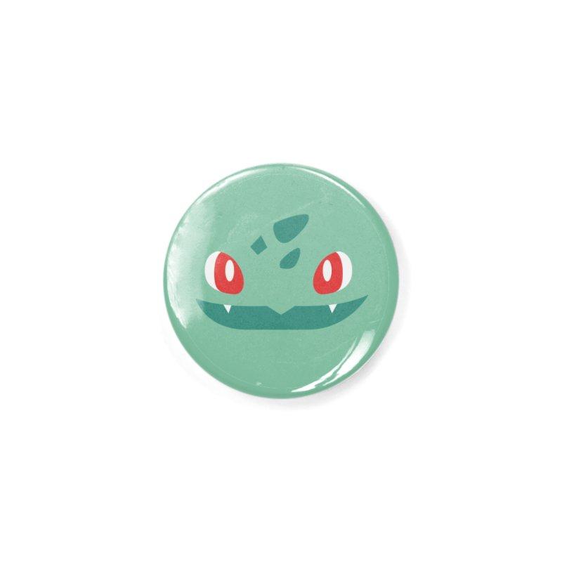 Bulbasaur Accessories Button by quadrin's Artist Shop