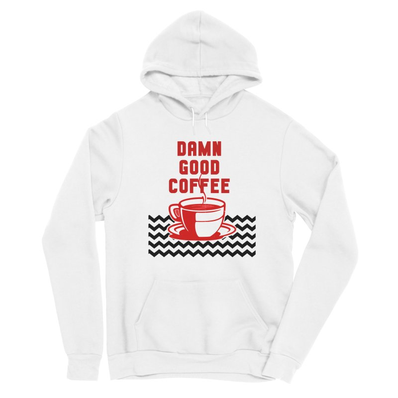 Damn Good Coffee Men's Pullover Hoody by quadrin's Artist Shop