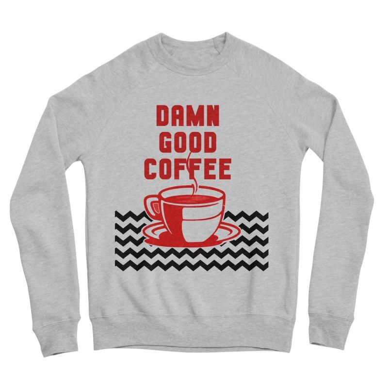 Damn Good Coffee Men's Sweatshirt by quadrin's Artist Shop